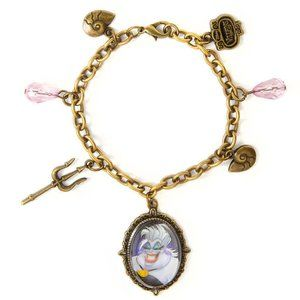 Disney Villains Ursula Charm Bracelet Mermaid